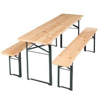 Tables et bancs brasseur