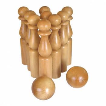 Les quilles en bois